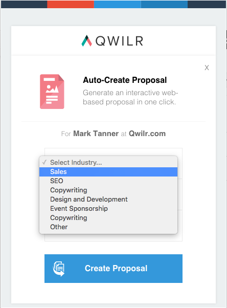 Use Sherlock to auto-create Qwilr proposals in seconds